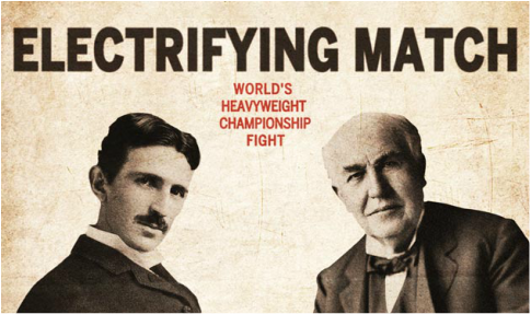Tesla vs Edison: electrifying match